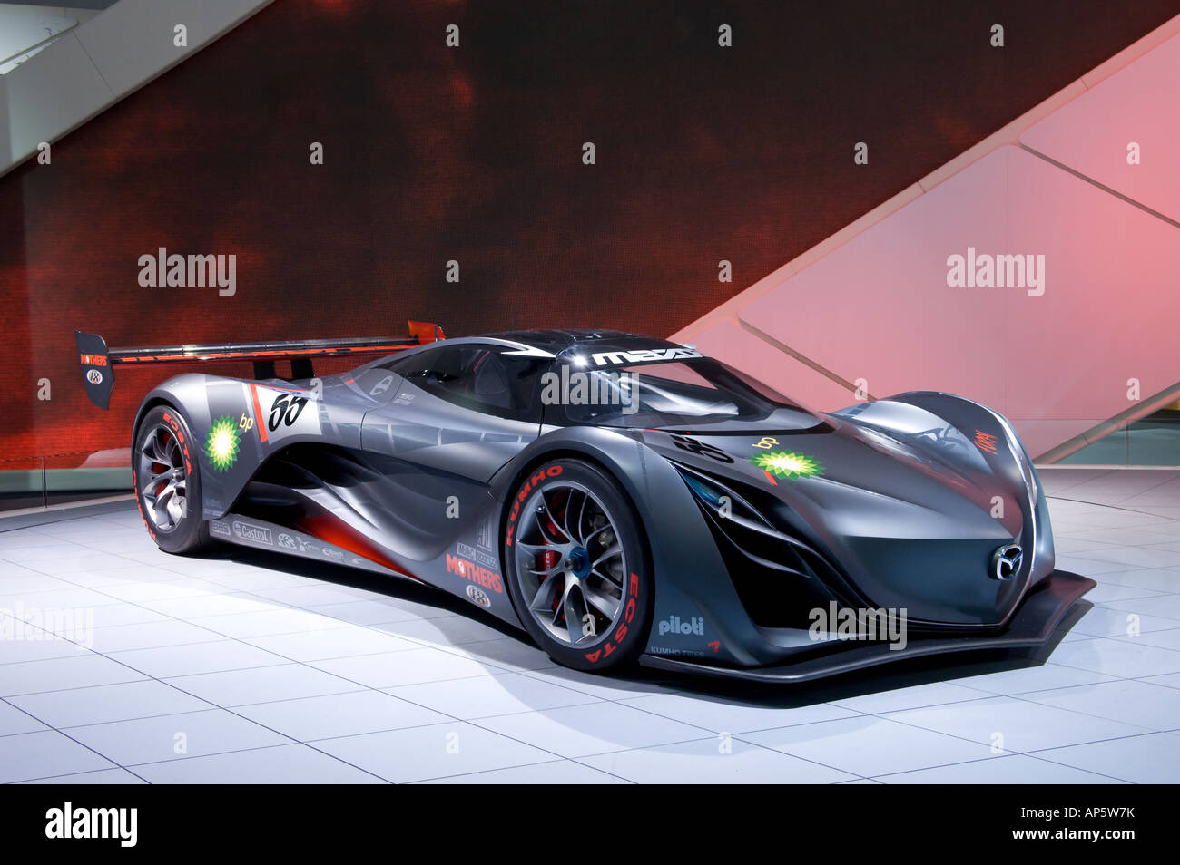 Mazda Furai Concept Car At The 2008 North American International Auto Show In Detroit Michigan USA