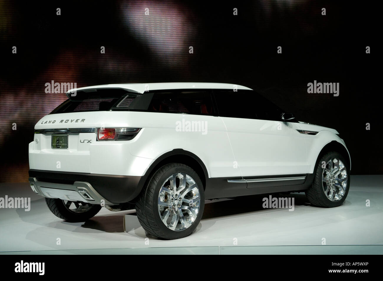 The Land Rover LRX concept vehicle at the 2008 North American Stock ...