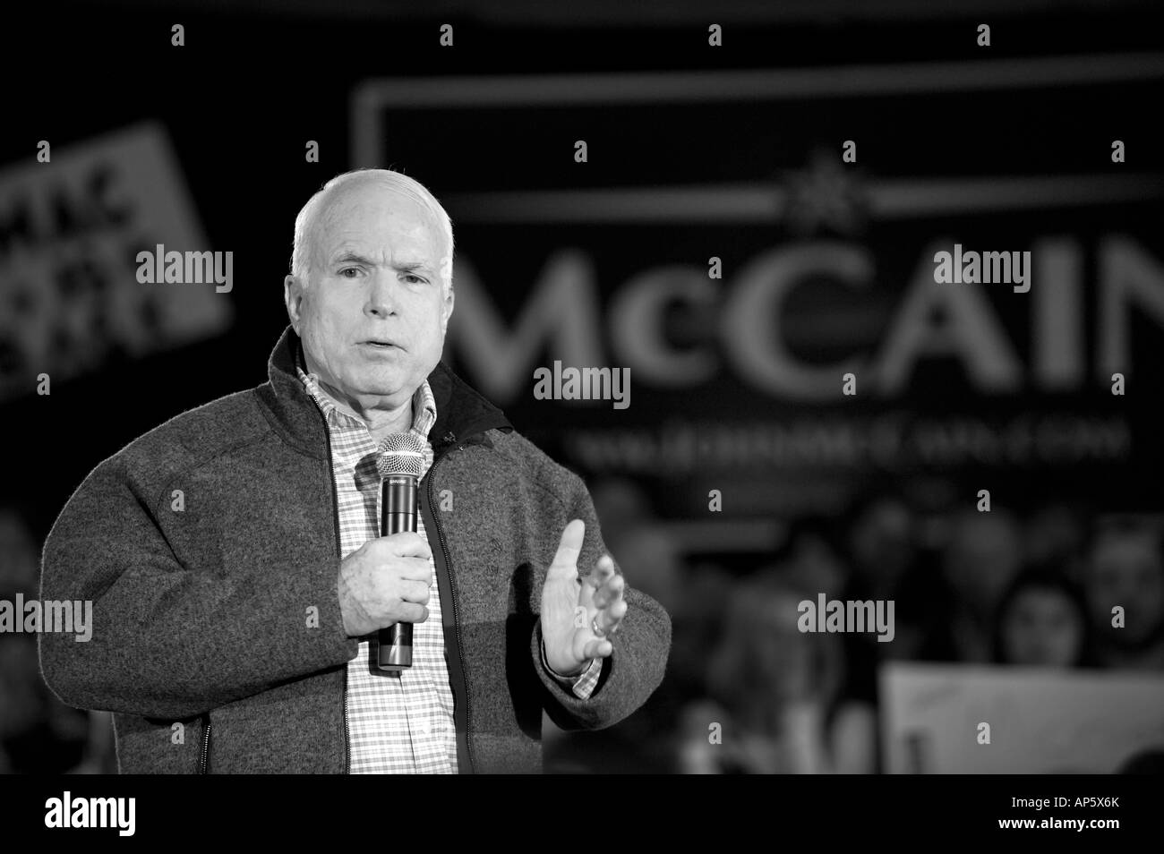Candidate Black And White Stock Photos Images Alamy