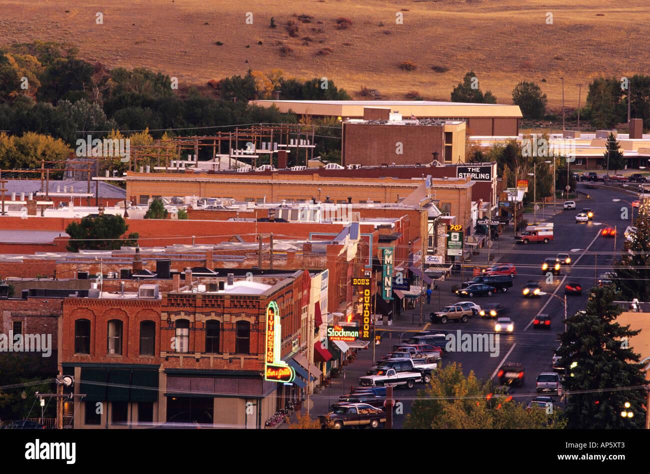 Livingston Montana - Stock Image