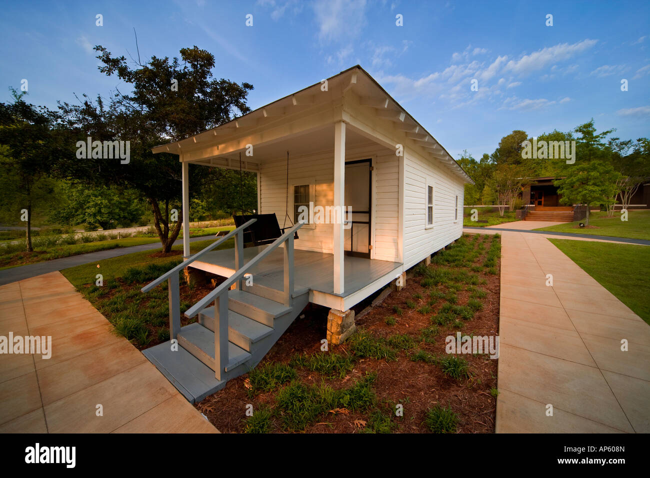 Tupelo Mississippi: The house where Elvis Presley was born. - Stock Image