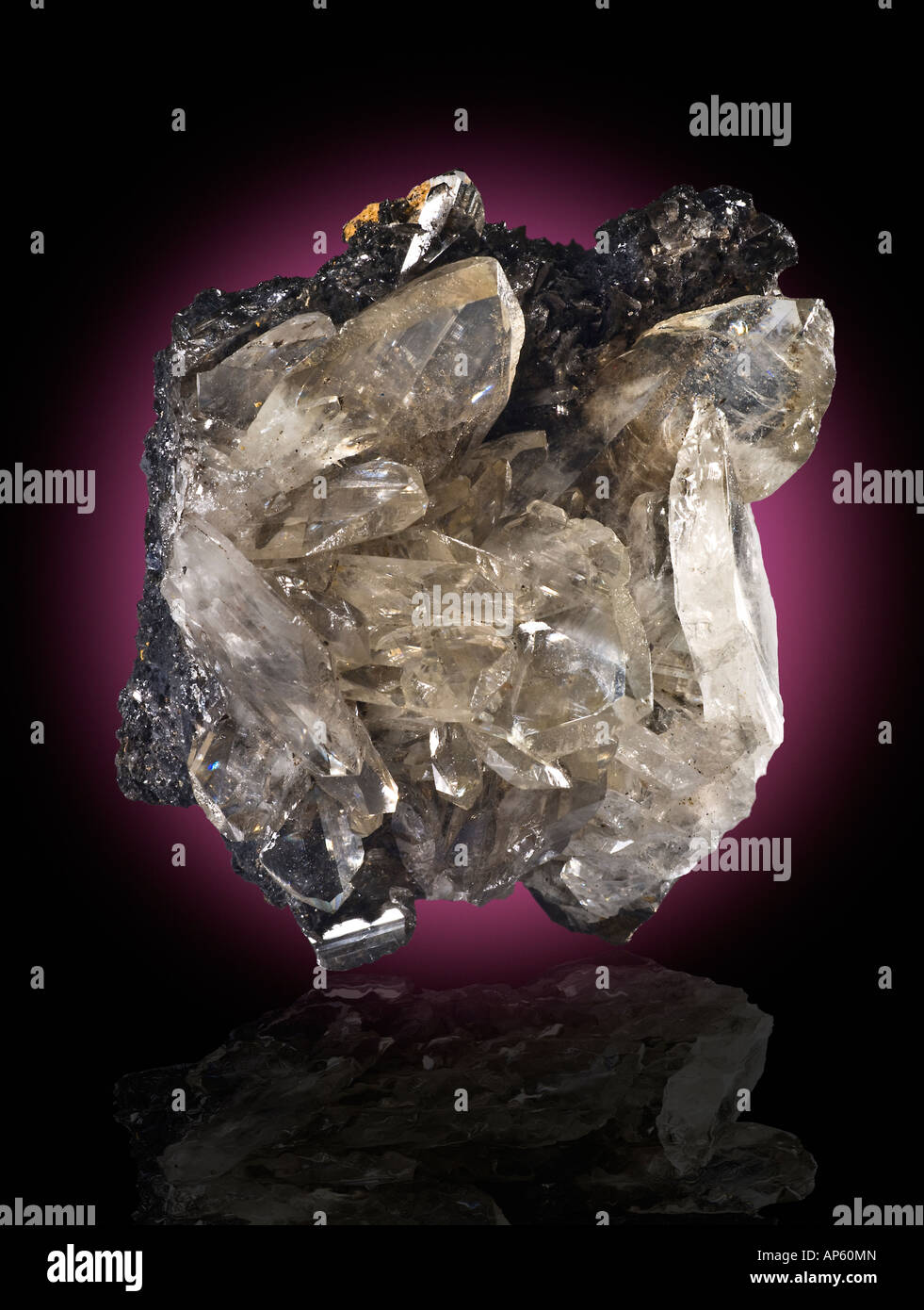 Anglesite Touissit Mine Morocco - Stock Image