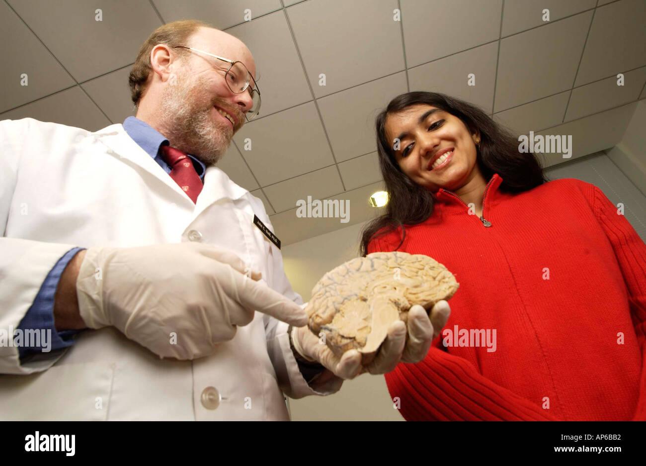 4e501fa17cca ... l r Southampton College professor John Neil with Lynbrook High School  Junior Saroj Kunnakkat who placed first at the International Brain Bee last  month ...