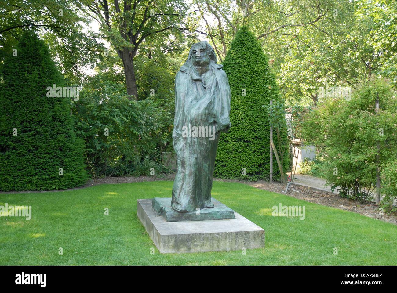 Sculpture By Auguste Rodin At The Museum 79 Rue De Varenne 75007 Paris