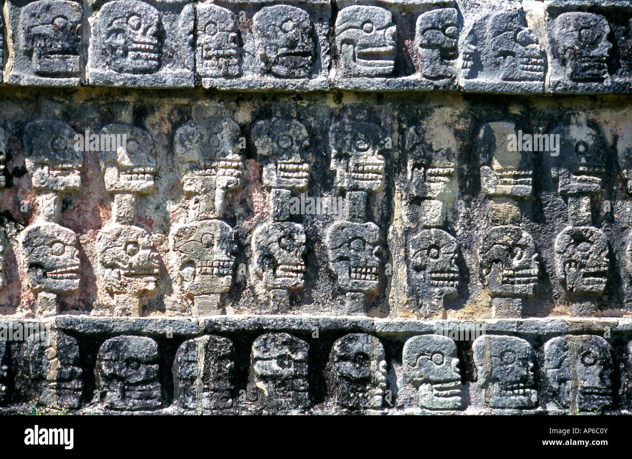 Anthropological Museum Reliefs Mexico - Stock Image