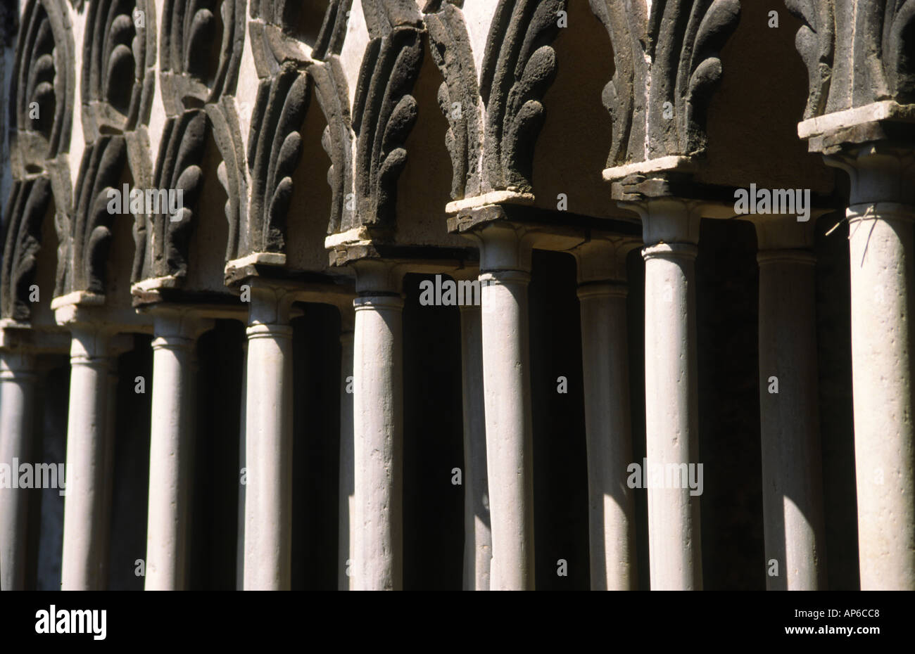 Detail from Villa Cimbrone Stock Photo