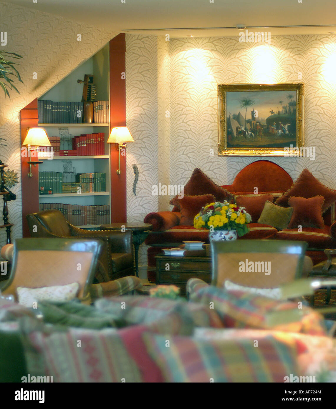 Fantastic Restaurant Boutique Hotel Albergo Beirut Lebanon Stock Photo Home Interior And Landscaping Spoatsignezvosmurscom