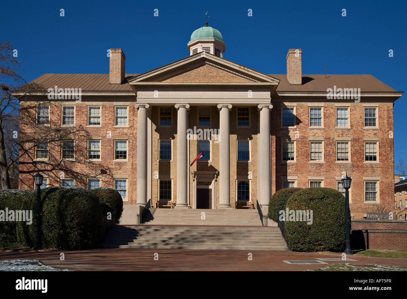 South Building of the University of North Carolina in Chapel Hill UNC - Stock Image