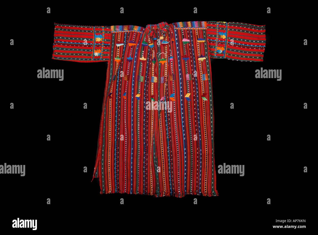 Late twentieth century huipil from Solola Guatemala - Stock Image