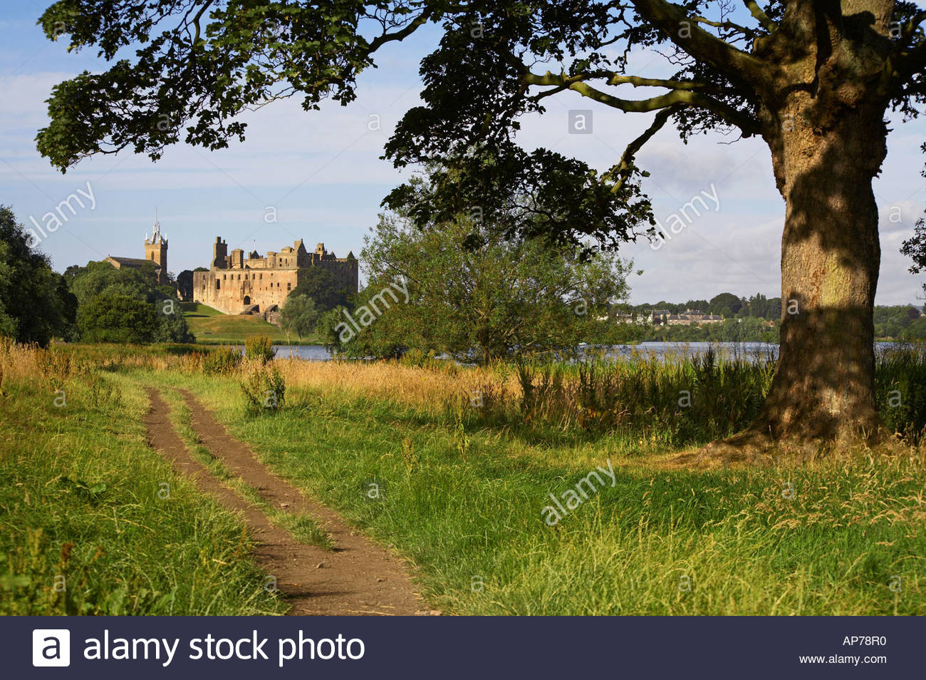 Linlithgow palace, Scotland Stock Photo