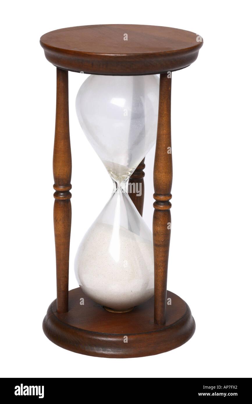 Vintage Sand Timer Hourglass - Stock Image
