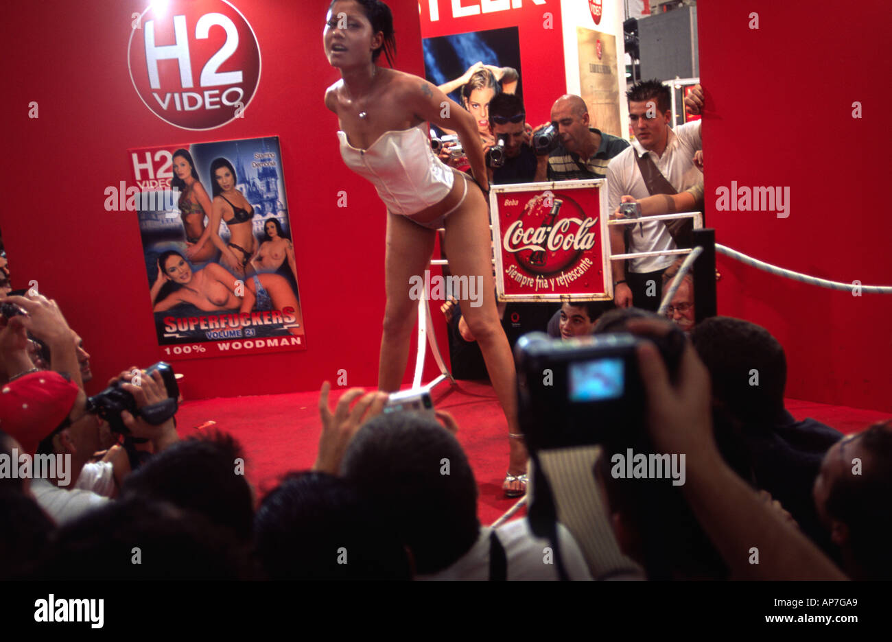 Porn At Festival porn star meets fans at the international erotic film