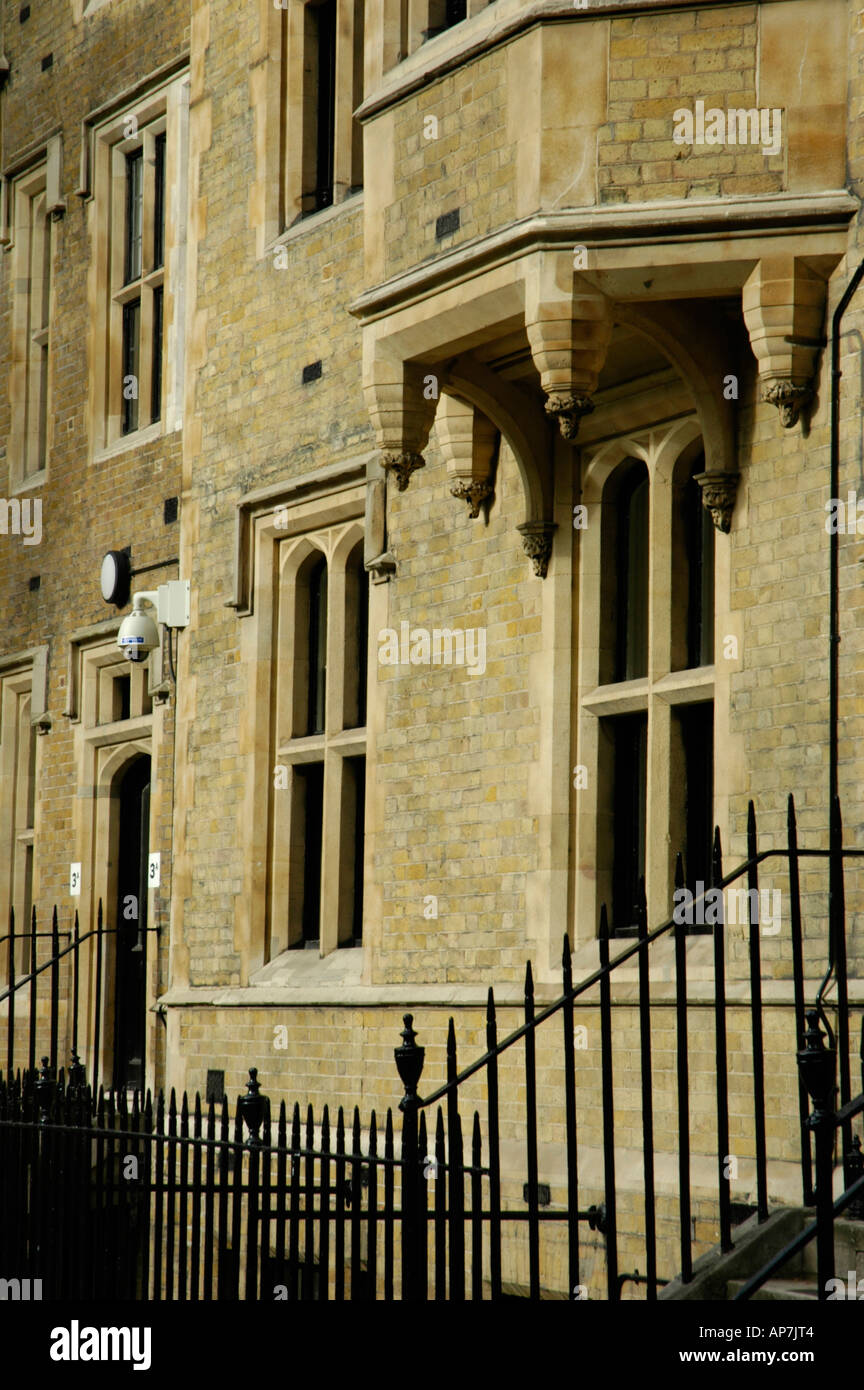 Building in Dean's Yard, London, England - Stock Image