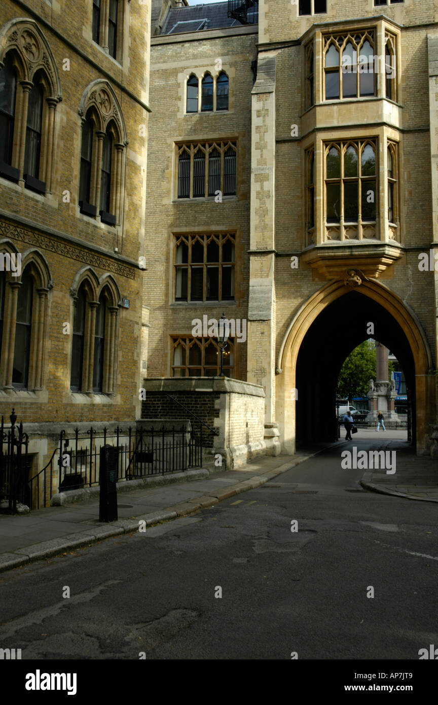 Dean's Yard, Westminster, London, England - Stock Image