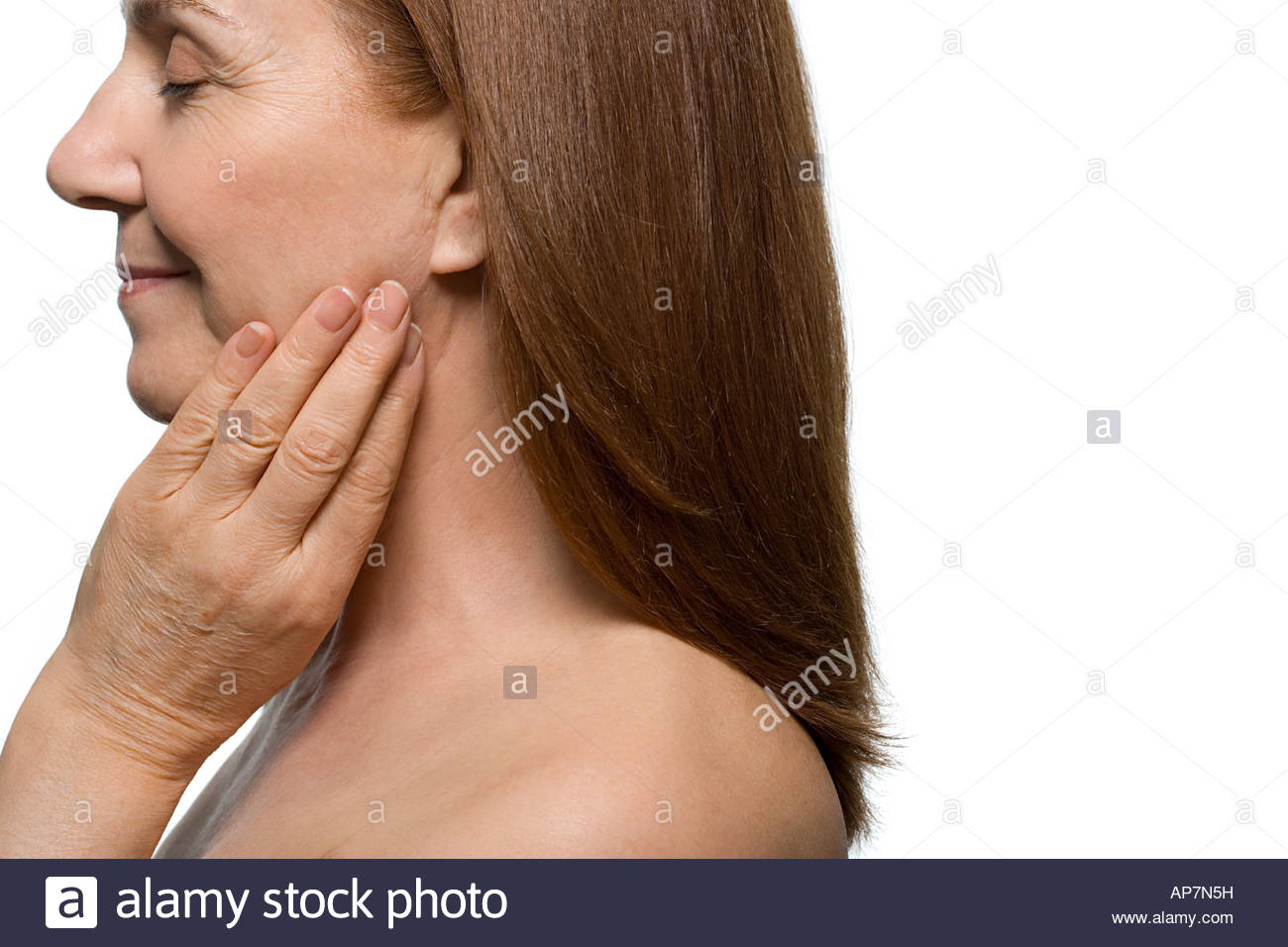 Human Neck Anatomy Stock Photos & Human Neck Anatomy Stock Images ...