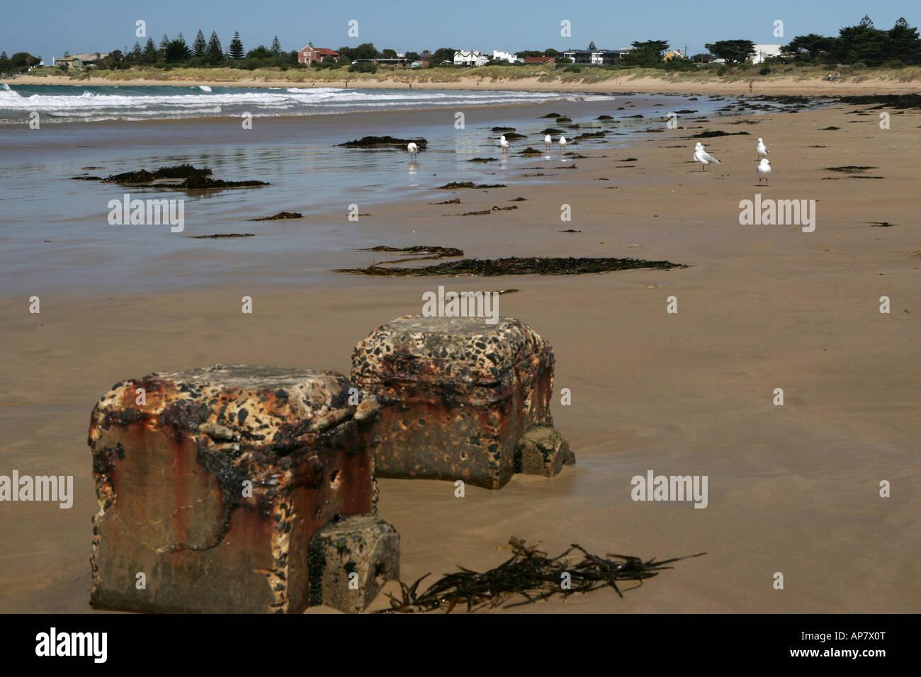 Apollo Bay Great Ocean Road Victoria Australia - Stock Image