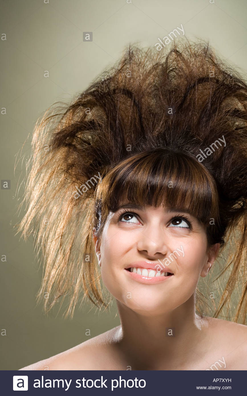 Backcombed Hair Stock Photos Backcombed Hair Stock Images Alamy