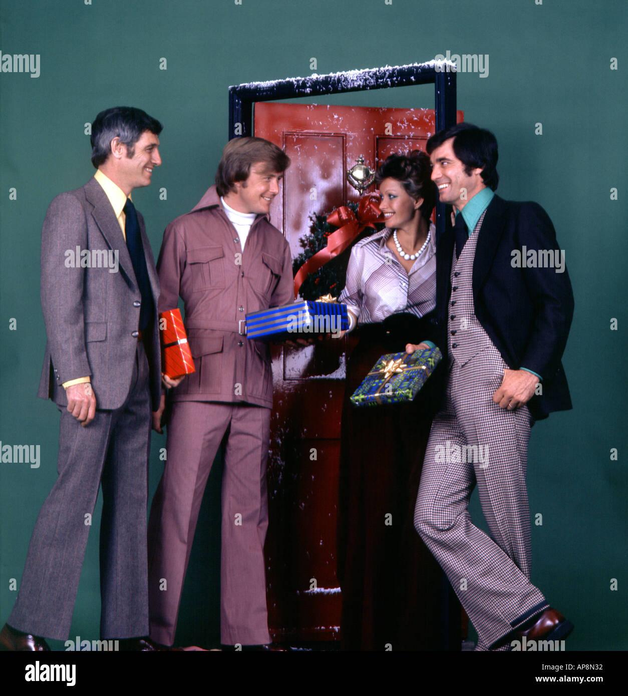 1970s Christmas - Stock Image