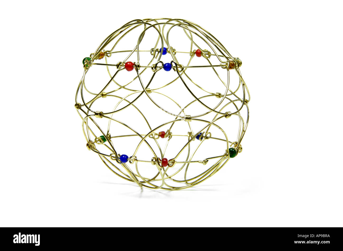 Mandala a buddhist meditation 3d instrument - Stock Image