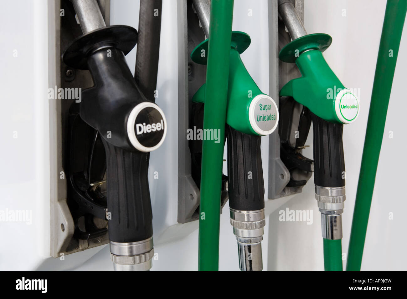 Fuel pump - Stock Image