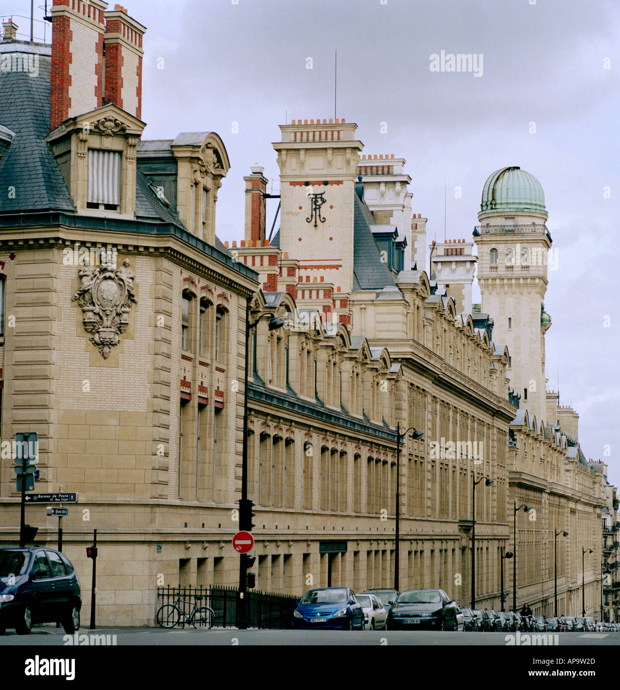 The Sorbonne University in the city of Paris In France In Europe Stock Photo