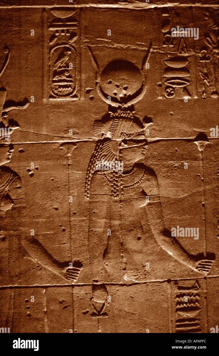 Egypt Temple Luxor - Stock Image