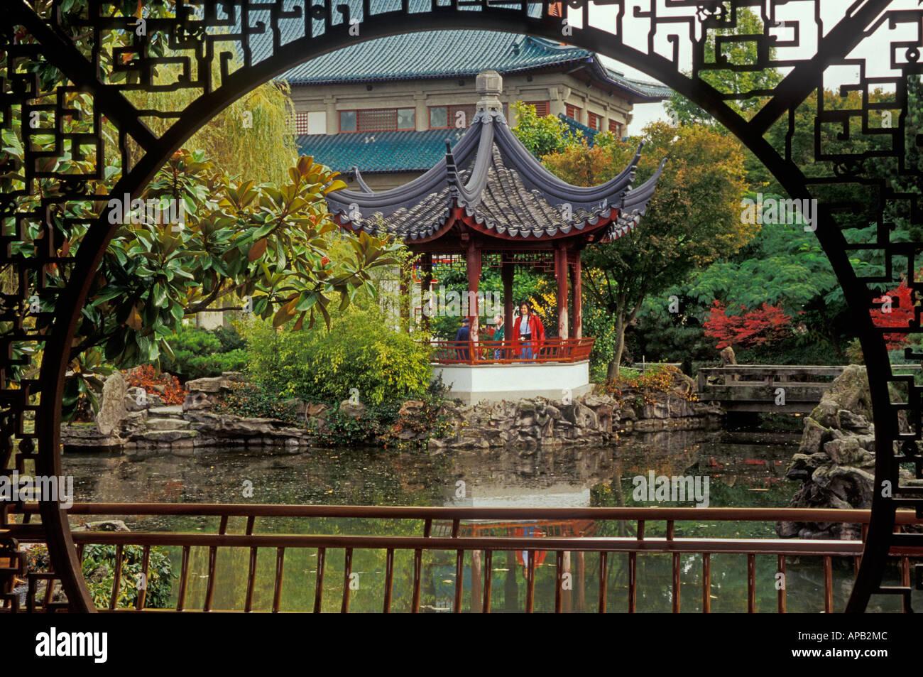 Doctor Sun Yat Sen Classical Chinese Garden Stock Photos & Doctor ...