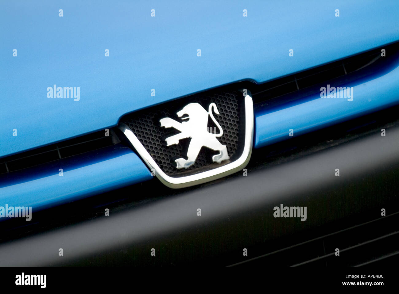Peugeot Logo Badge Stock Photos Peugeot Logo Badge Stock Images