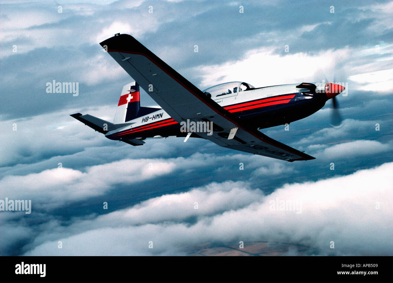 Pilatus PC7 - Stock Image