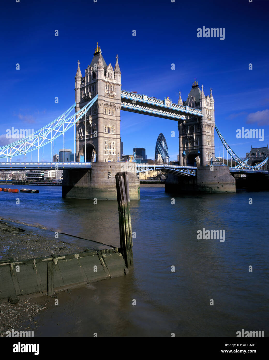 Tower Bridge London United Kingdom - Stock Image