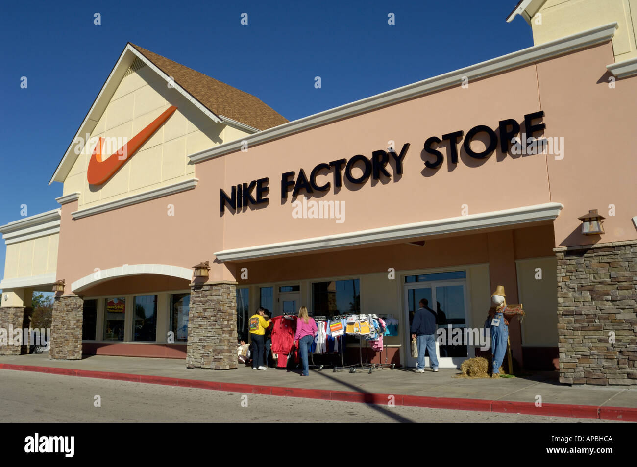 2cb41d8c3b6ccc Nike factory outlet store in Birch Run Michigan Stock Photo  5137865 ...