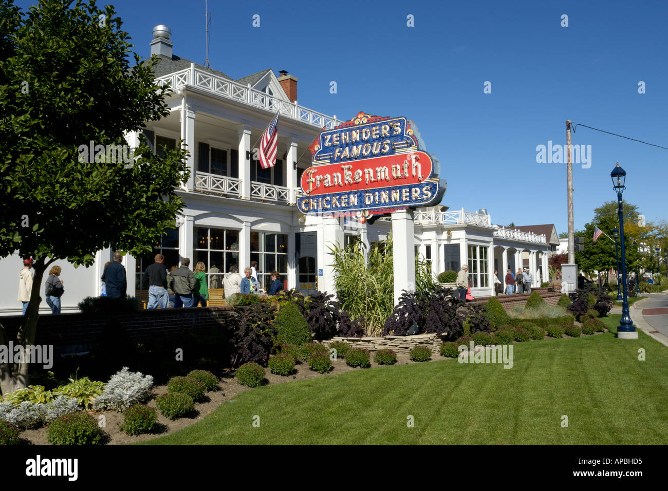 Zehnder S Restaurant In Frankenmuth Michigan Usa Stock Photo
