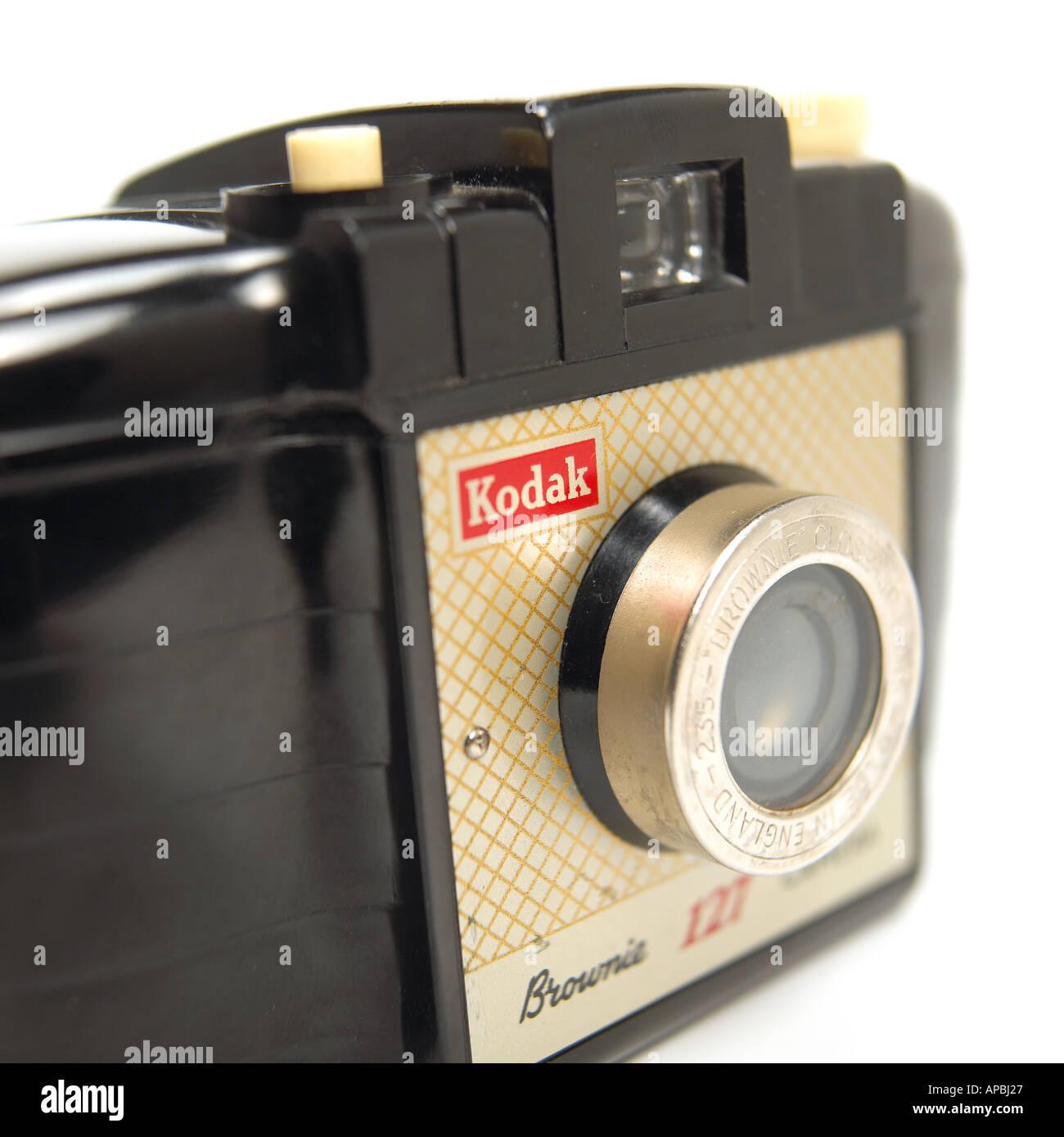 Kodak Box Brownie Camera - Stock Image