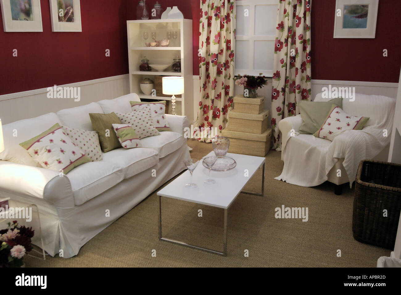 show room at the Ideal Homes Exhibition Earls Court - Stock Image
