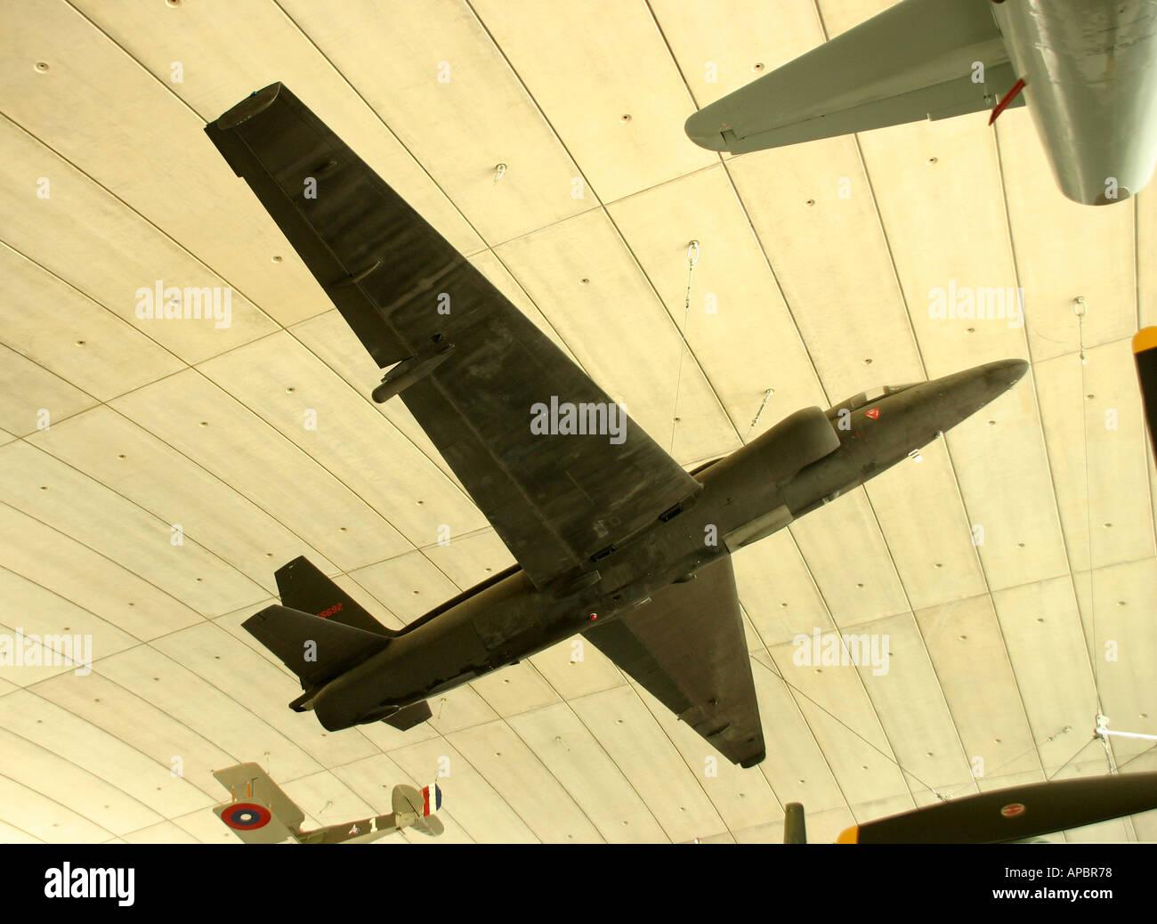 U2 Spy plane Imperial War Museum Duxford Stock Photo