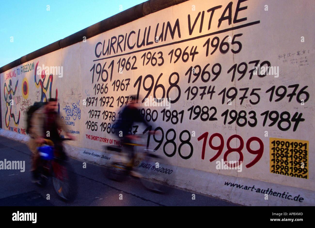 Berlin wall graffiti berlin germany