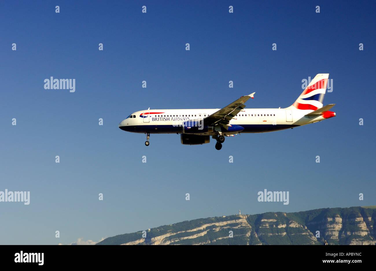Airbus A320-200 British Airways - Stock Image