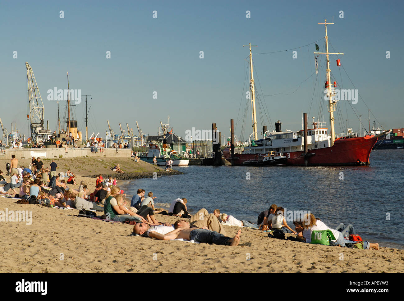 Der Stadt Hamburg hamburg city stock photos hamburg city stock images
