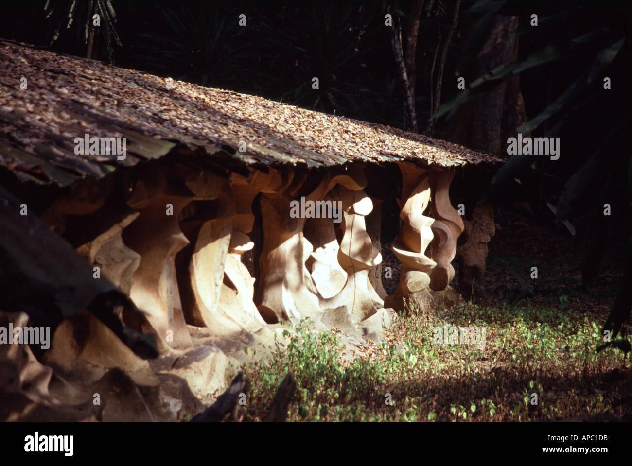 Nigeria shrine stock photos images