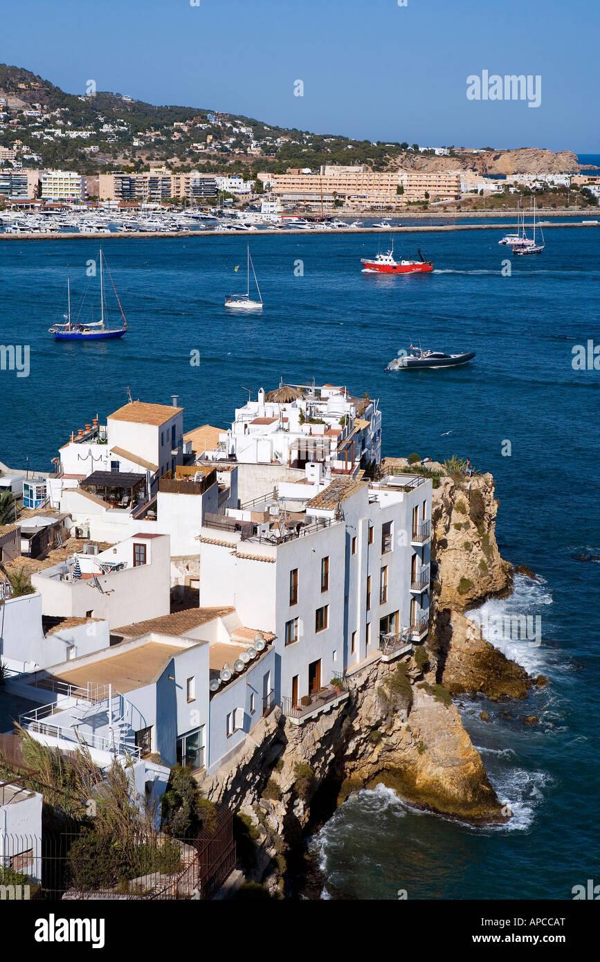 Sa Penya, Eivissa, Ibiza, the Balearic Islands, Spain - Stock Image
