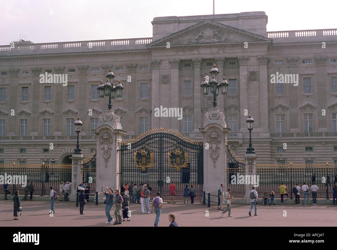 Buckhingham Palace in London Stock Photo