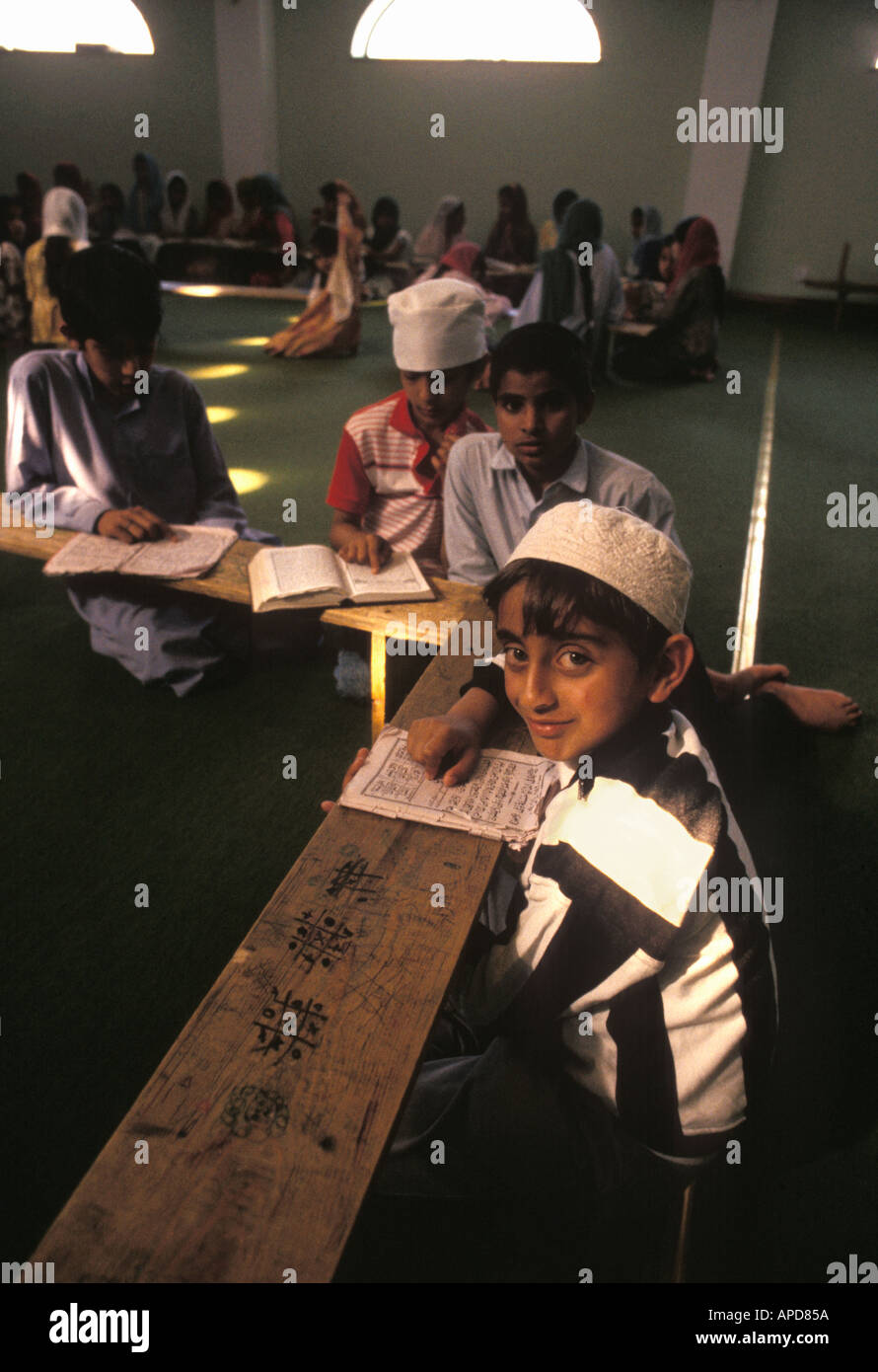 After School Classes in High Wycombe Mosque - Stock Image