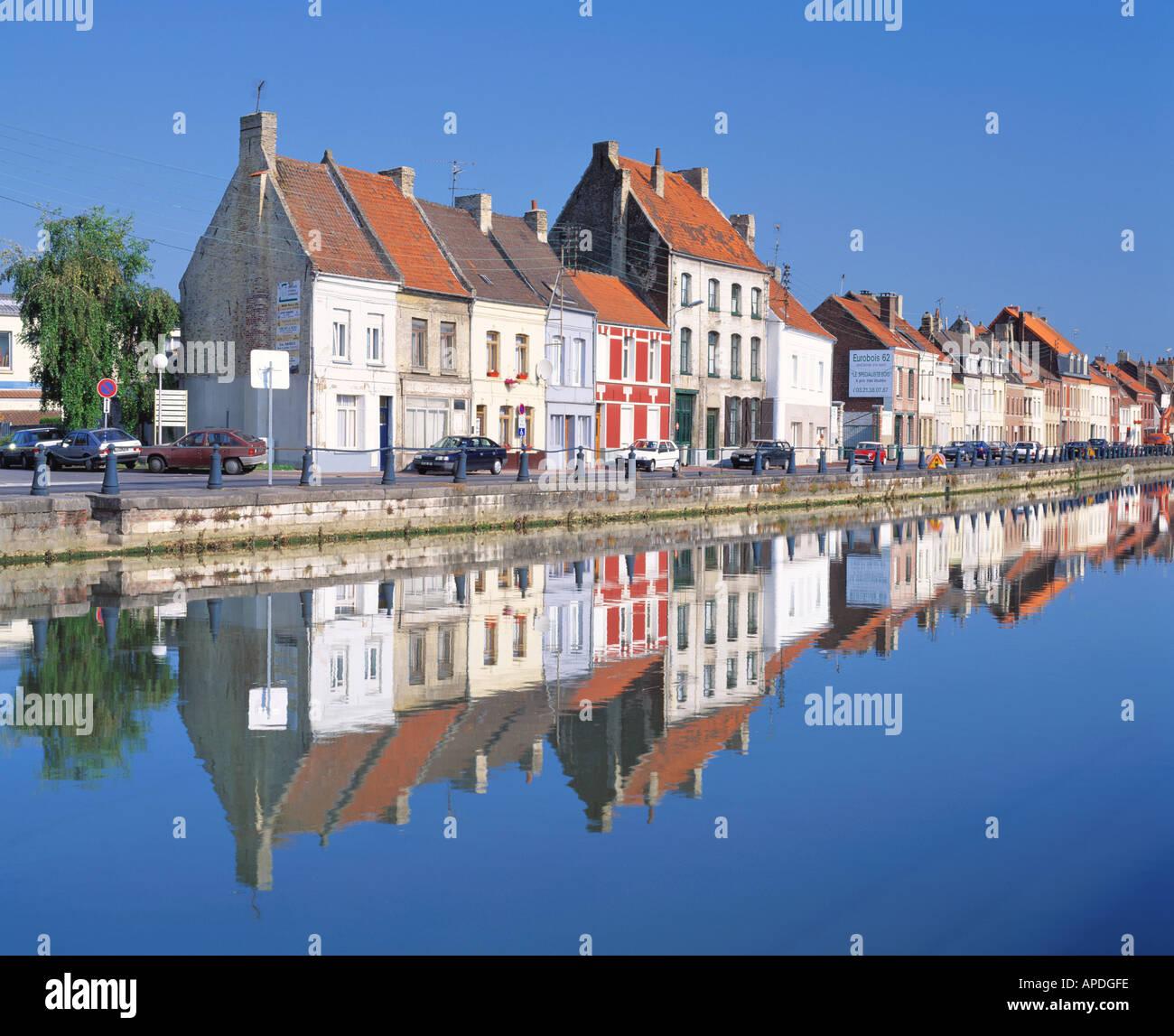 FRANCE NORD PAS DE CALAIS ST OMER - Stock Image