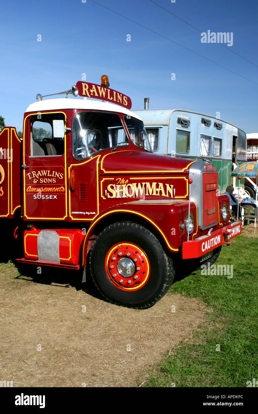 Scammell Showmans Tractor - Stock Image