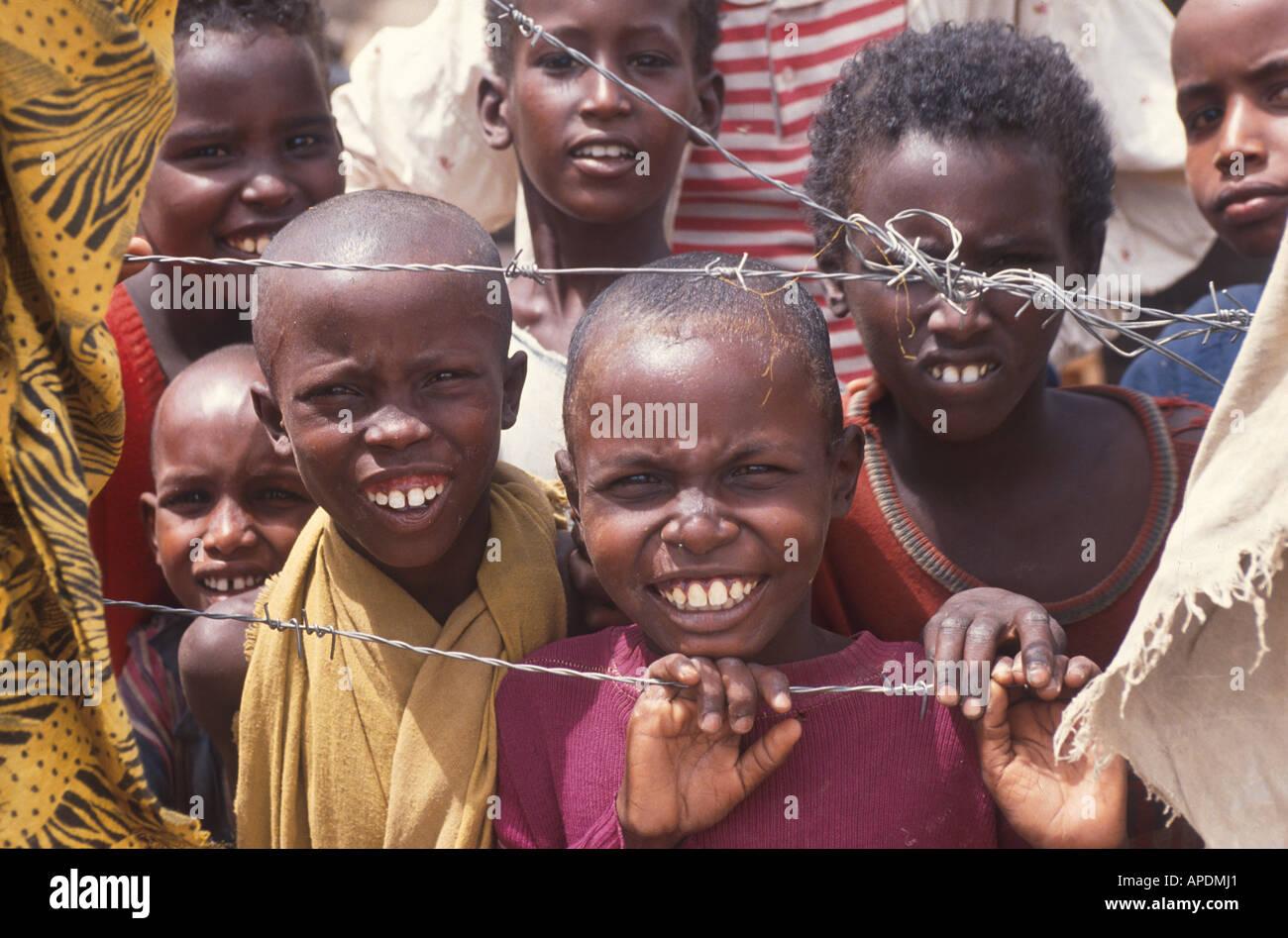 Aethiopien, Kenia - Stock Image