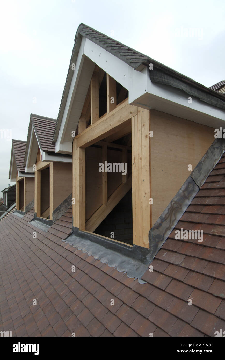 Dormer Window Building Site Stock Photos Amp Dormer Window