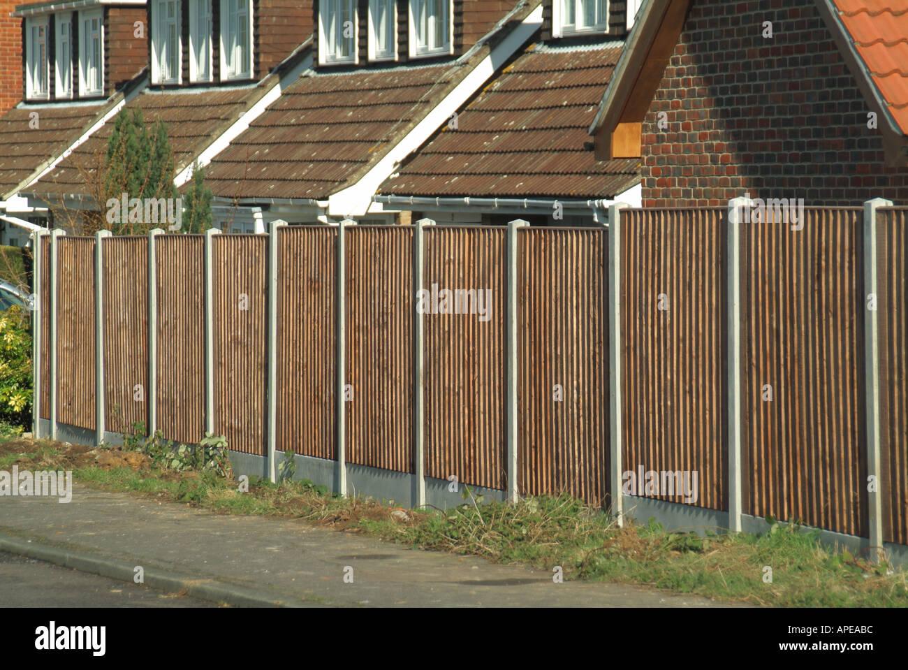 Concrete Fence Post Posts Stock Photos & Concrete Fence Post