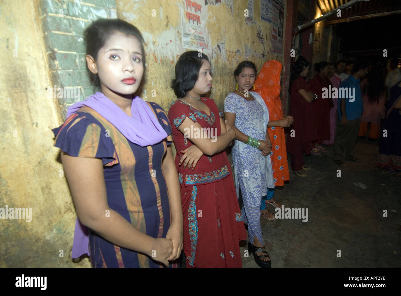 Teen girls in Tangail