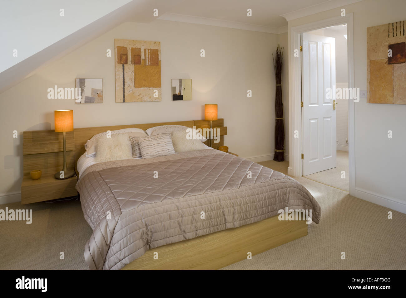 Mews Style Houses, Misterton and Retford, Nottinghamshire Architect: Spawforth Associates Stock Photo