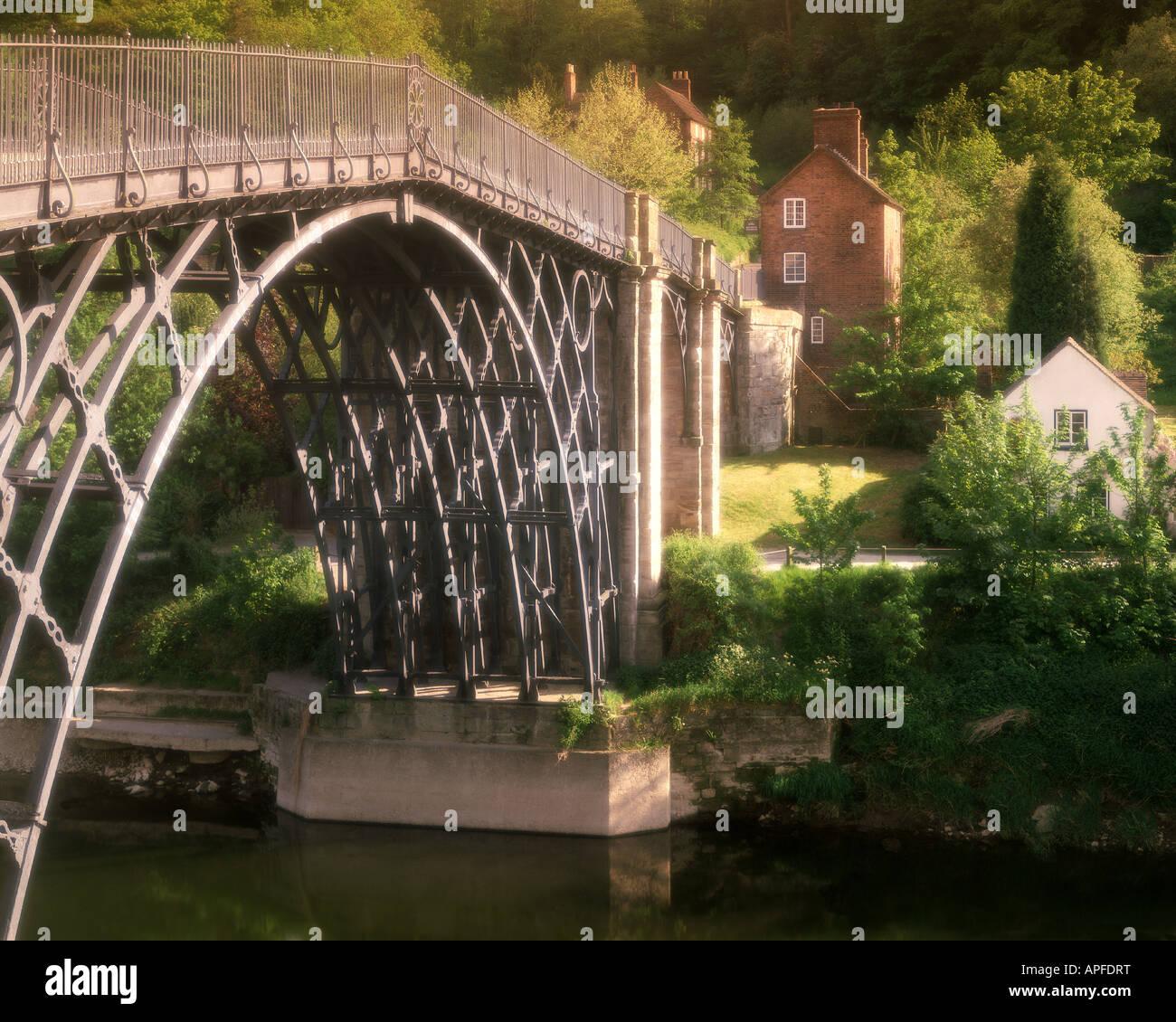 GB - SHROPSHIRE:  Ironbridge - Stock Image